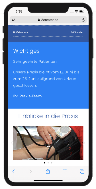 Responsives Webdesign aus Jülich